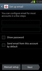 Samsung I8190 Galaxy S III Mini - E-mail - Manual configuration - Step 7