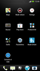 HTC One - Réseau - Sélection manuelle du réseau - Étape 3