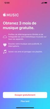 Apple iPhone XR - Photos, vidéos, musique - Ecouter de la musique - Étape 4