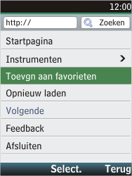 Nokia C2-05 - internet - hoe te internetten - stap 10