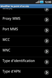 Samsung S5660 Galaxy Gio - Internet - Configuration manuelle - Étape 10