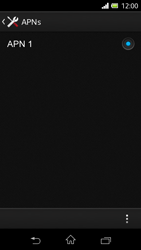 Sony Xperia L - Internet - Manuelle Konfiguration - Schritt 9