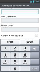 LG Optimus F6 - E-mails - Ajouter ou modifier un compte e-mail - Étape 10
