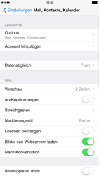 Apple iPhone 6 iOS 8 - E-Mail - Konto einrichten (outlook) - Schritt 9