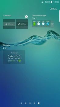 Samsung Galaxy S6 edge+ (G928F) - Operazioni iniziali - Installazione di widget e applicazioni nella schermata iniziale - Fase 5