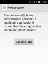 Alcatel Pixi 3 (3.5) - Dispositivo - Ripristino delle impostazioni originali - Fase 9
