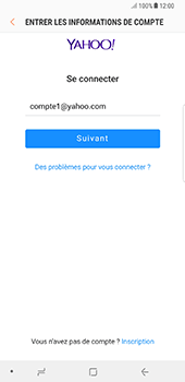 Samsung Galaxy Note 8 - E-mail - Configuration manuelle (yahoo) - Étape 8