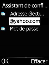 Doro 6620 - E-mails - Ajouter ou modifier votre compte Yahoo - Étape 11