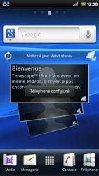 Sony Xperia Arc - MMS - Configuration automatique - Étape 3