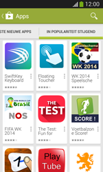 Samsung I8200N Galaxy S III Mini VE - Applicaties - Downloaden - Stap 12