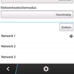 BlackBerry Q5 - netwerk en bereik - gebruik in binnen- en buitenland - stap 11