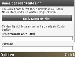 Nokia E72 - Apps - Konto anlegen und einrichten - Schritt 11