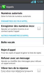 LG P710 Optimus L7 II - Messagerie vocale - configuration manuelle - Étape 6
