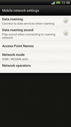 HTC One S - Internet and data roaming - Disabling data roaming - Step 6