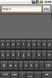Samsung I7500 Galaxy - Internet - navigation sur Internet - Étape 5