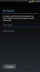 HTC One S - Apps - Konto anlegen und einrichten - 5 / 23
