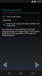 Sony Xperia Z - Applications - Setting up the application store - Step 12