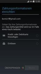 Samsung Galaxy A3 - Apps - Konto anlegen und einrichten - 1 / 1