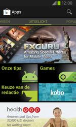 Samsung I9105P Galaxy S II Plus - apps - app store gebruiken - stap 16