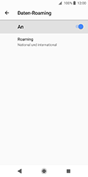 Sony Xperia XZ2 Compact - Ausland - Im Ausland surfen – Datenroaming - 12 / 14