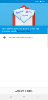 Samsung Galaxy Note 8 - E-mail - 032a. Email wizard - Gmail - Étape 5