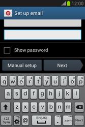 Samsung Galaxy Fame Lite - E-mail - manual configuration - Step 6