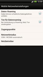 HTC One X - Internet und Datenroaming - Deaktivieren von Datenroaming - Schritt 5