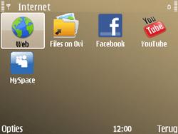 Nokia E72 - Internet - handmatig instellen - Stap 22