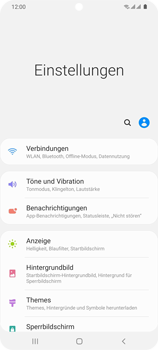 Samsung Galaxy S20 Ultra 5G - WiFi - WiFi Calling aktivieren - Schritt 5