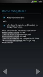 HTC One - Apps - Konto anlegen und einrichten - 18 / 25