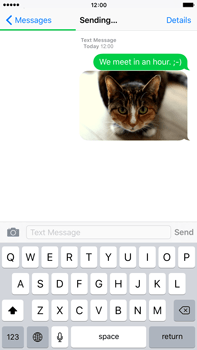 Apple iPhone 6s Plus - MMS - Sending pictures - Step 13