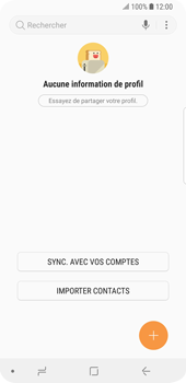 Samsung Galaxy S9 - Contact, Appels, SMS/MMS - Ajouter un contact - Étape 4