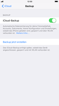Apple iPhone 8 Plus - Software - iCloud synchronisieren - 7 / 10