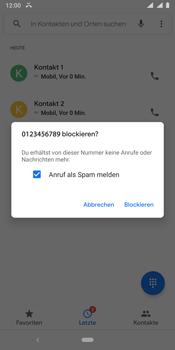 Nokia 9 - Anrufe - Anrufe blockieren - Schritt 7