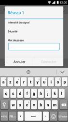 Huawei Ascend G6 - Wi-Fi - Accéder au réseau Wi-Fi - Étape 7