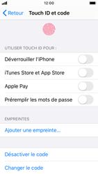 Apple iPhone SE - iOS 13 - Sécurité - activéz le code PIN de l'appareil - Étape 8