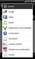 HTC S510e Desire S - E-mail - envoyer un e-mail - Étape 8