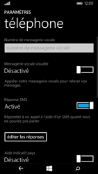 Nokia Lumia 735 - Messagerie vocale - configuration manuelle - Étape 7