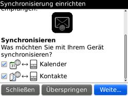 BlackBerry 8520 Curve - E-Mail - Konto einrichten - Schritt 12