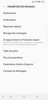 Samsung Galaxy S8 - Android Oreo - SMS - Configuration manuelle - Étape 6