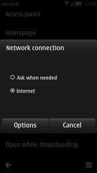 Nokia 700 - Internet - Manual configuration - Step 22