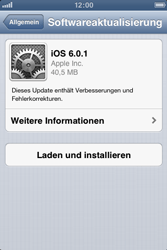 Apple iPhone 4 - Software - Installieren von Software-Updates - Schritt 8