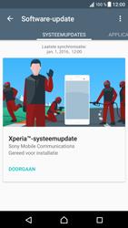 Sony Xperia XZ (F8331) - software - update installeren zonder pc - stap 6