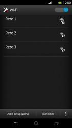 Sony Xperia T - WiFi - Configurazione WiFi - Fase 6