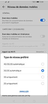 Huawei Y6 (2019) - Internet et connexion - Activer la 4G - Étape 6