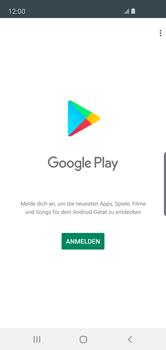 Samsung Galaxy S10e - Apps - Konto anlegen und einrichten - Schritt 4