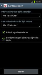 Samsung N7100 Galaxy Note 2 - E-Mail - Konto einrichten - Schritt 12