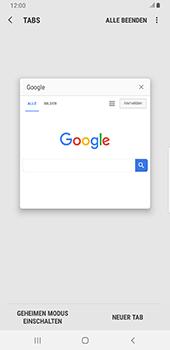 Samsung Galaxy Note9 - Android Pie - Internet und Datenroaming - Verwenden des Internets - Schritt 16