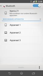 Sony D5503 Xperia Z1 Compact - bluetooth - aanzetten - stap 6