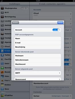 Apple iPad - E-mail - e-mail instellen: IMAP (aanbevolen) - Stap 14